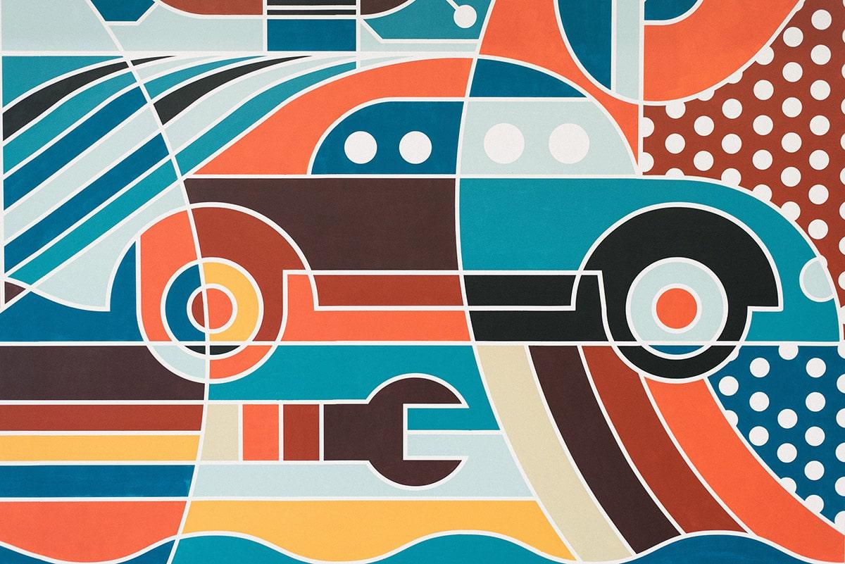 art think small Fowler Mural - Mat Goad