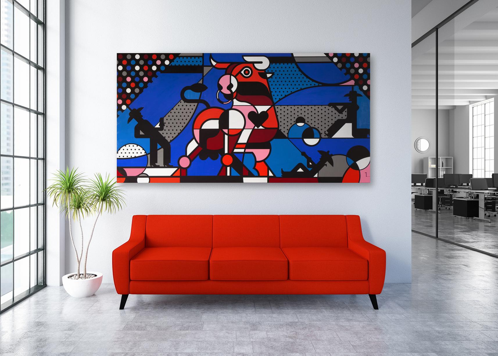 Matt Goad Goliath Painting
