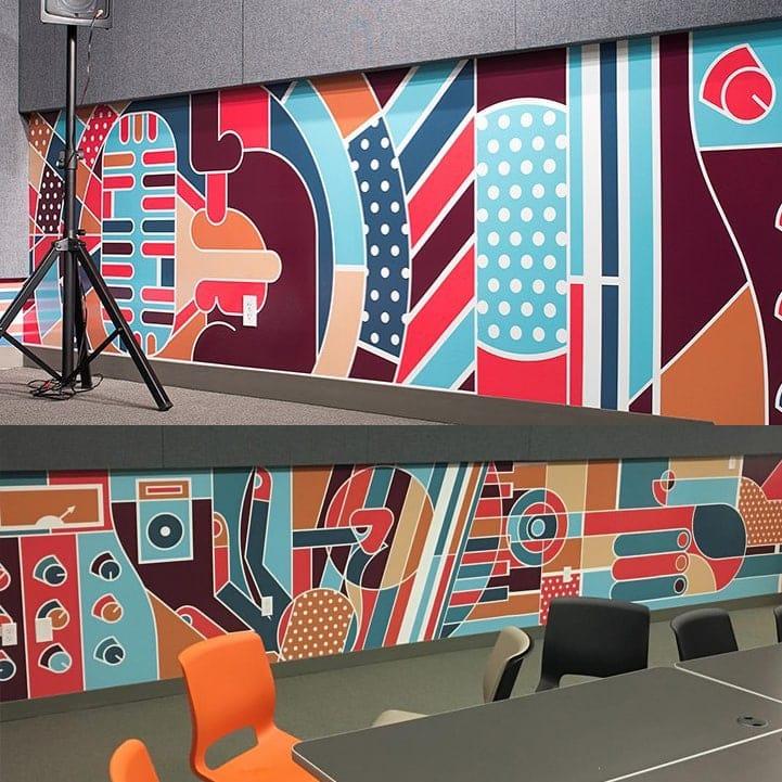 KOSU Alive Mural - Matt Goad