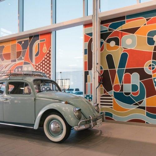 Goad Mural Fowler VW
