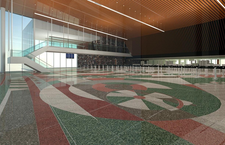 Will Rogers Airport Expansion Public Art v1 by Matt Goad