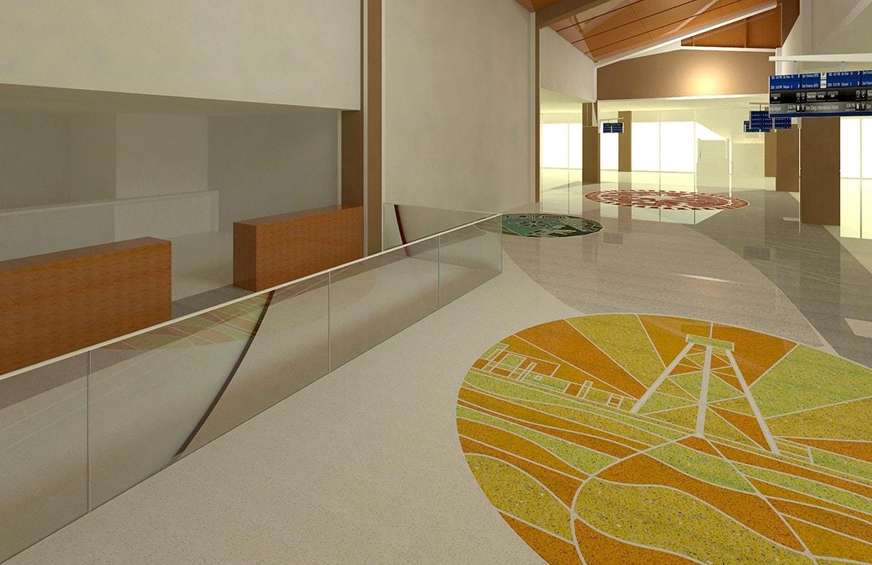 Will Rogers Airport Expansion Public Art v10 by Matt Goad