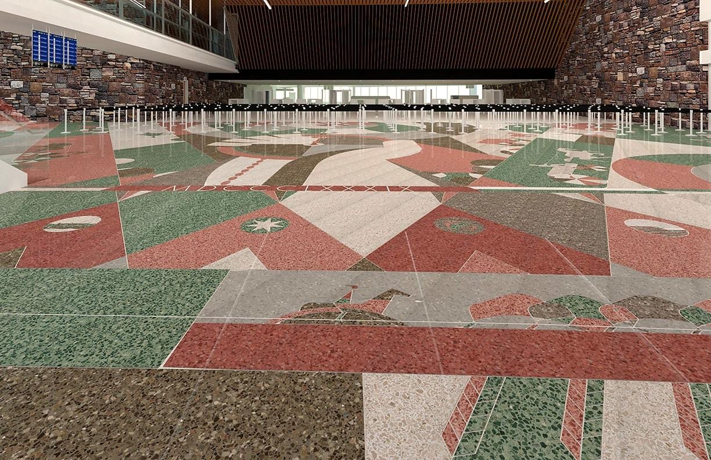 Will Rogers Airport Expansion Public Art v4 by Matt Goad