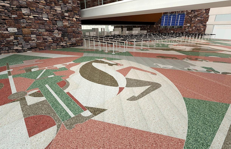 Will Rogers Airport Expansion Public Art v5 by Matt Goad