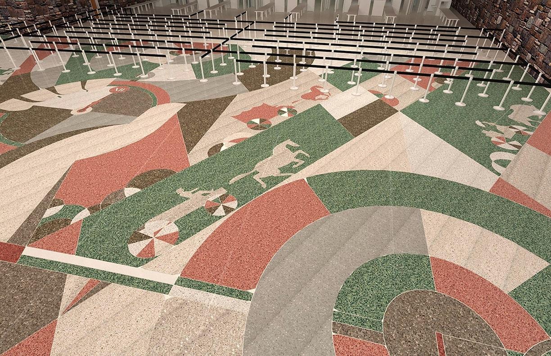 Will Rogers Airport Expansion Public Art v6 by Matt Goad