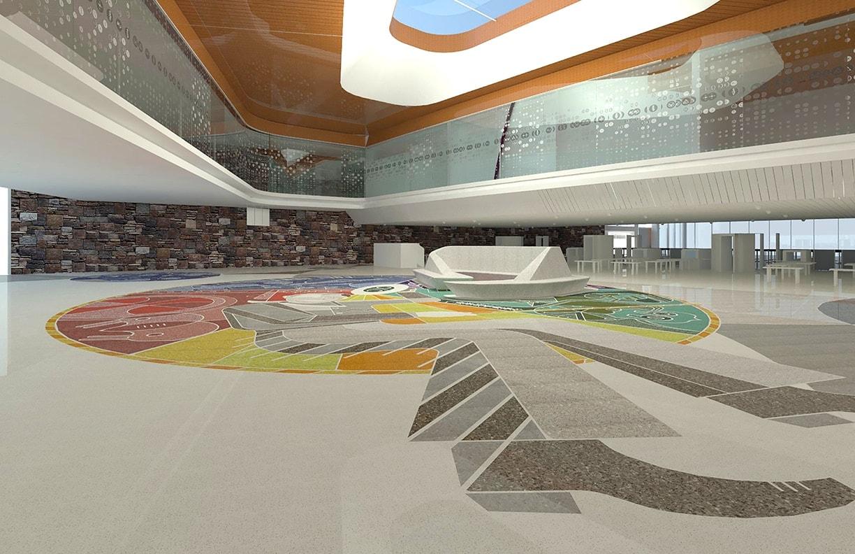 Will Rogers Airport Expansion Public Art v7 by Matt Goad