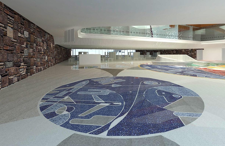 Will Rogers Airport Expansion Public Art v9 by Matt Goad
